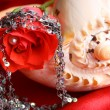 Red Rose Pearl — Stock Photo #9169804