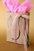 Gifts Bag — Stock Photo