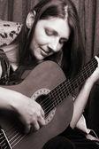 ギター奏者 — ストック写真