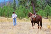 Kowboj — Zdjęcie stockowe