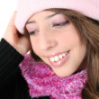 Winter Teen — Stock Photo
