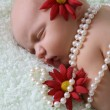 Newborn Girl — Stock Photo #9269006