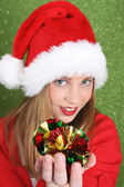Christmas Teen — ストック写真