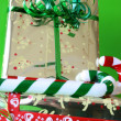 Gifts and Candy — Stock Photo #9270295
