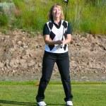 Female Golfer — Stock Photo #9284396