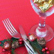 Christmas Setting — Stock Photo