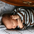 Sleeping baby — Stock Photo #9327494