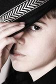 Casual tonåring — Stockfoto