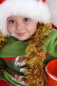 Pečení vánočního cukroví — Stock fotografie