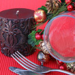 Christmas Setting — Stock Photo #9355719