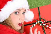 Christmas Teen — Stock Photo