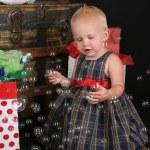 Kerstmis bubbels — Stockfoto
