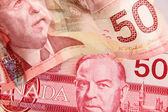 Canadian currency — Stock Photo