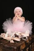 Baby Ballerina — Stock Photo