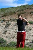 Male Golfer — Stock Photo