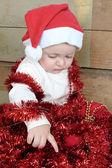 圣诞宝宝 — 图库照片
