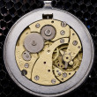 Mechanism of old wristwatches — Stock Photo #8919950