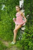 Lovely girl . — Fotografia Stock