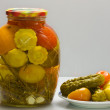 Royalty-Free Stock Photo: Pickled vegetables.