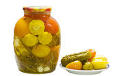 Pickled vegetables. — Stock Photo