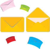 Mailing envelope — Stock Vector