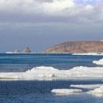 Ice sea surface — Stock Photo