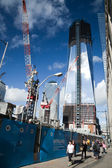 NEW YORK CITY - OCTOBER 3: One World Trade Center — 图库照片