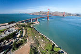 The Golden Gate Bridge — 图库照片