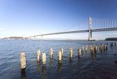 San Francisco Bay bridge — Stock Photo