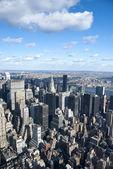 La ciudad de nueva york — Foto de Stock