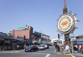 SAN FRANCISCO, USA-OCTOBER 25: Fishermans Wharf of San Francisco — Foto de Stock