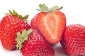 新鮮なイチゴ — ストック写真