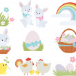 Stock Vector: Easter