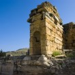 Ruins of ancient city of Hierapolis spring time,Turkey — Stock Photo #10641440