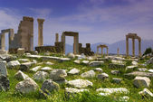 The Ruins of Laodicea a city of the Roman Empire in modern-day , Turkey,Pamukkale,Denizli. — Stock Photo