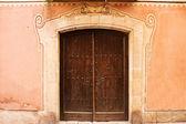 Old wooden Door. — Stockfoto