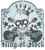Rock n roll symbol 3 — Stock Vector