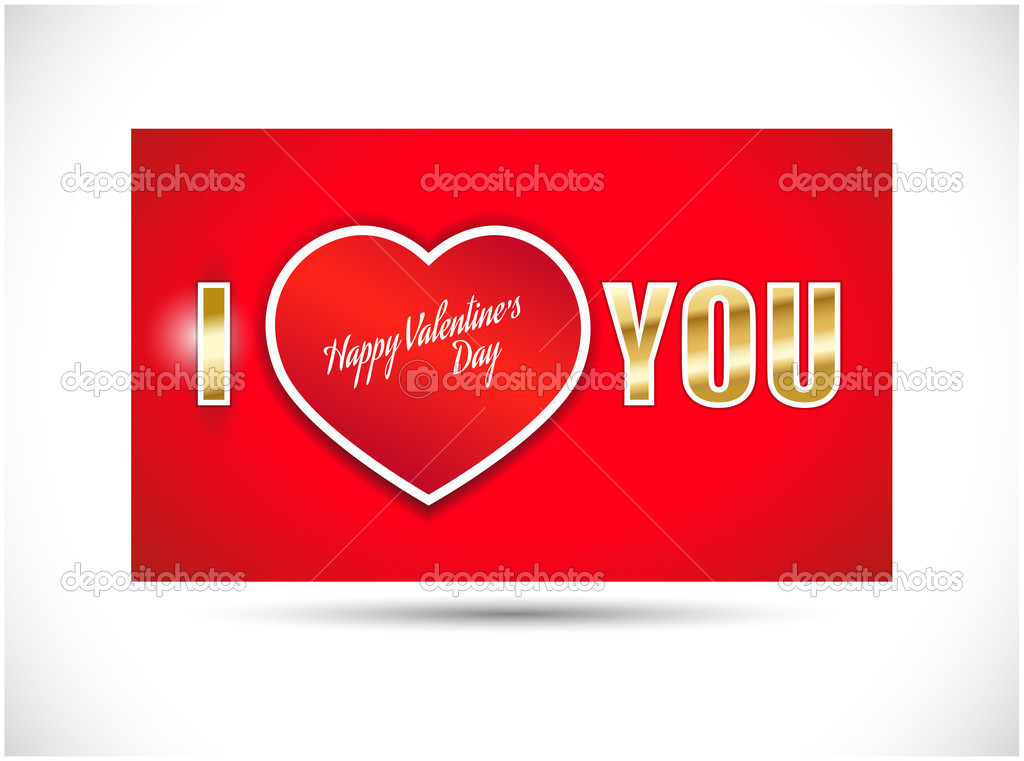 Valentines day card — Stock Vector #8410233
