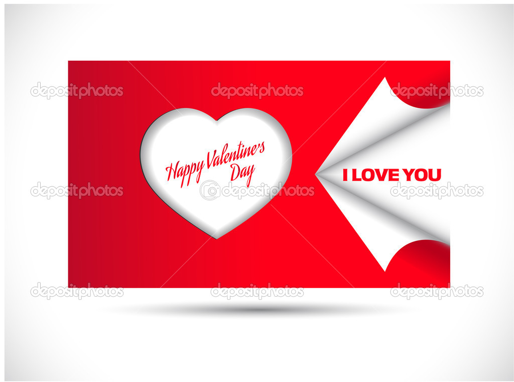 Valentines day card — Stock Vector #8410244