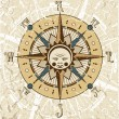 Royalty-Free Stock Vector Image: Compass Rose Illustration