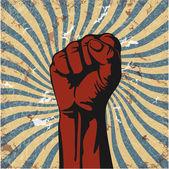 矢量 grunge 的手的姿态 — 图库矢量图片