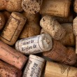 Bunch of wine corks — Stock Photo