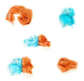 Сolorful scarves — Stock Photo