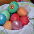 Easter eggs. — Stock Photo #10078032