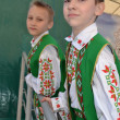 On a Victory Day holiday.Young actors. — Stock Photo #10531308