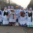 Folklore collective Ternitsa. Belarus. — Stock Photo