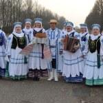Folklore collective Ternitsa. Belarus. — Stock Photo