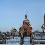 Rural temple in village Archers. Belarus — Stock Photo