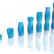 Business graph — Stock Photo #8893647