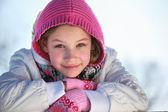 Happy smiling little girl — Stock Photo